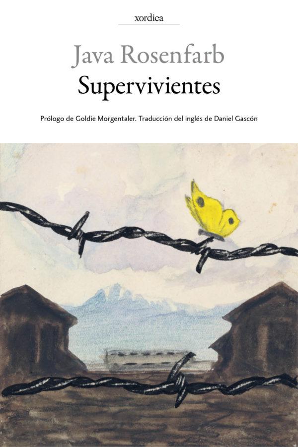 """Portada libro: """"Supervivientes"""""""