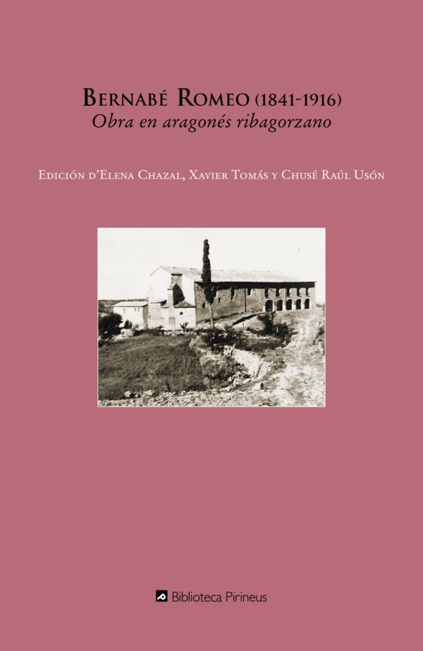 "Portada libro: ""Obra en aragonés ribagorzano"""