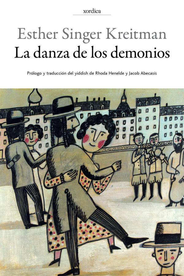 """Portada libro: """"La danza de los demonios"""""""