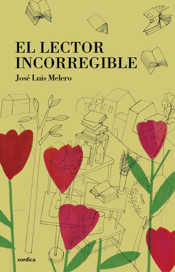"""Portada libro: """"El lector incorregible"""""""