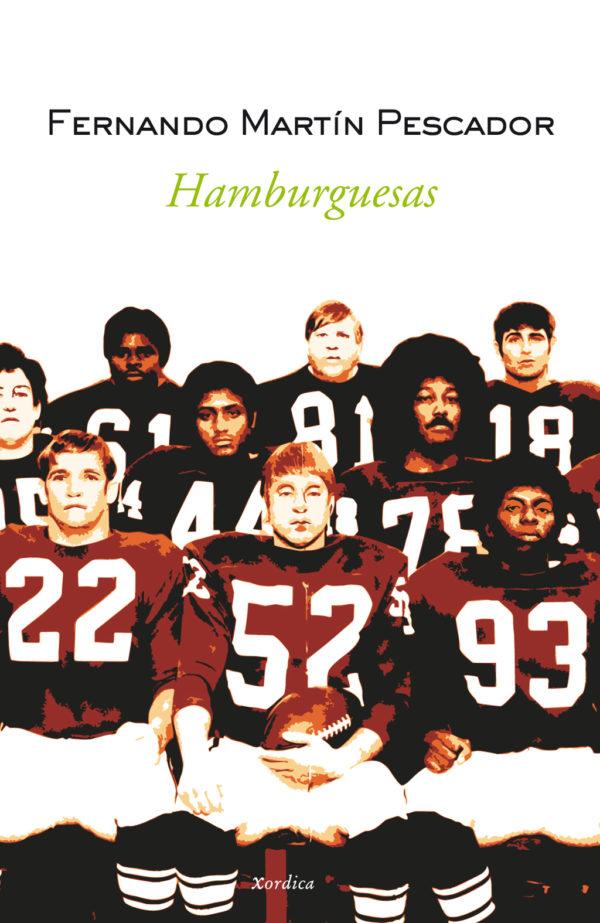 "Portada libro: ""Hamburguesas"""