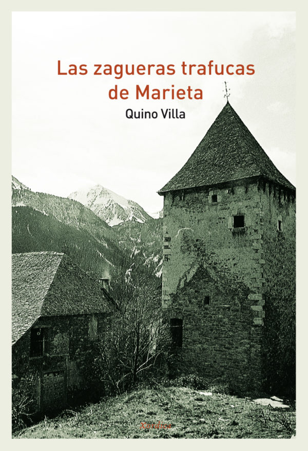 """Portada libro: """"Las zagueras trafucas de Marieta"""""""