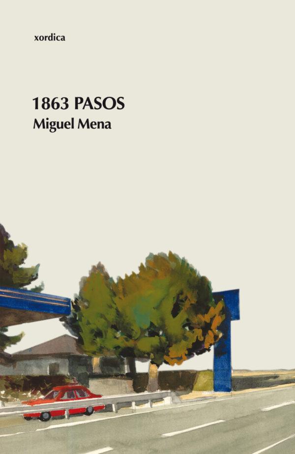 """Portada libro: """"1863 pasos"""""""