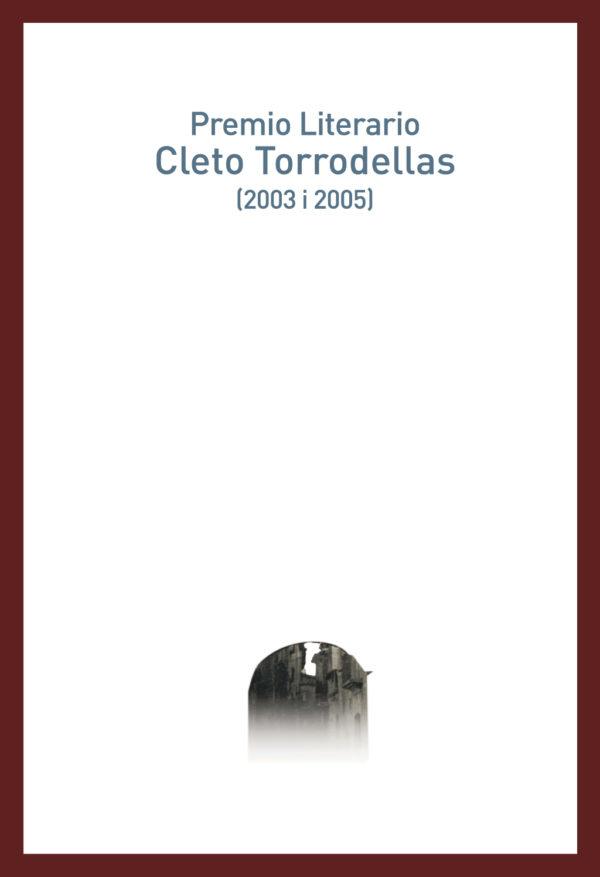 "Portada libro: ""Premio CLETO TORRODELLAS (2003 i 2005)"""