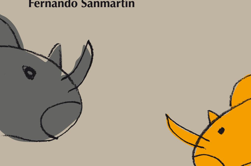 Heridas causadas por tres rinocerontes