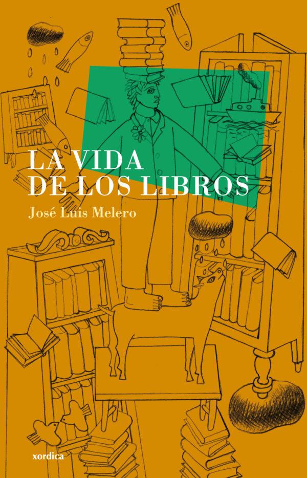 """Portada libro: """"La vida de los libros"""""""
