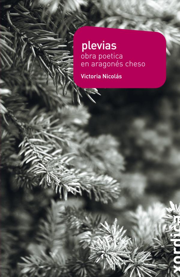 """Portada libro: """"Plevias. Obra poética en aragonés cheso"""""""