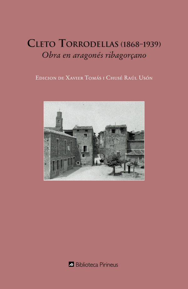 """Portada libro: """"Obra en aragonés ribagorçano"""""""