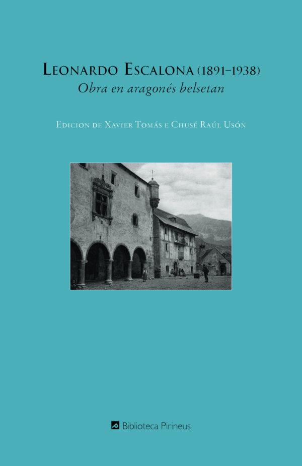 """Portada libro: """"Obra en aragonés belsetan"""""""