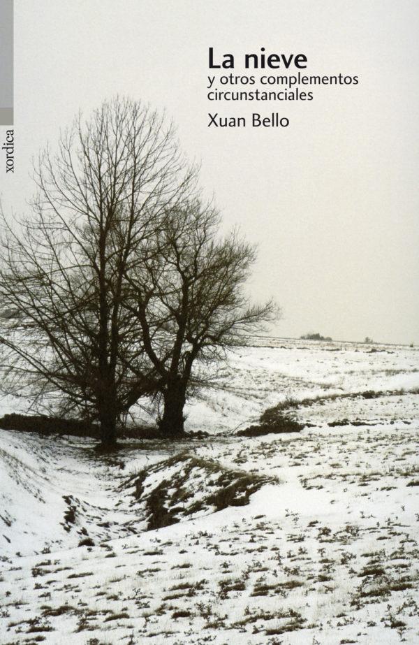 """Portada libro: """"La nieve y otros complementos circunstanciales"""""""