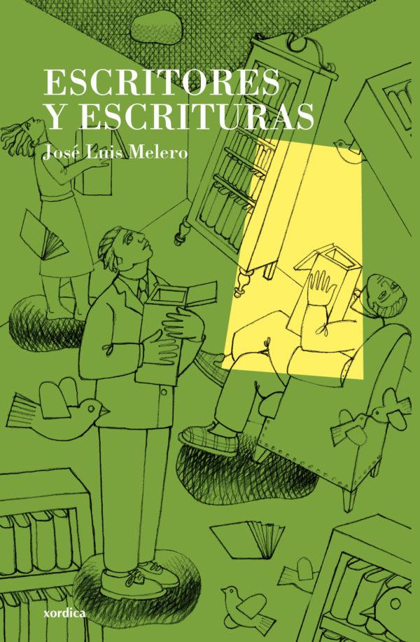 """Portada libro: """"Escritores y escrituras"""""""