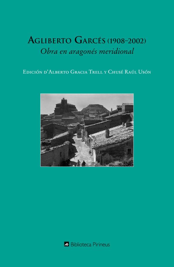 """Portada libro: """"Obra en aragonés meridional"""""""