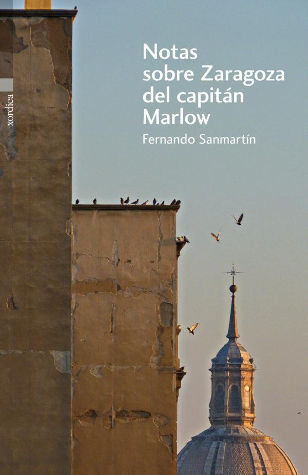 "Portada libro: ""Notas sobre Zaragoza del capitán Marlow"""