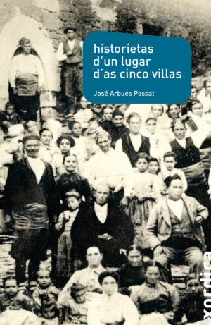 """Portada libro: """"Historietas d'un lugar d'as Cinco Villas"""""""